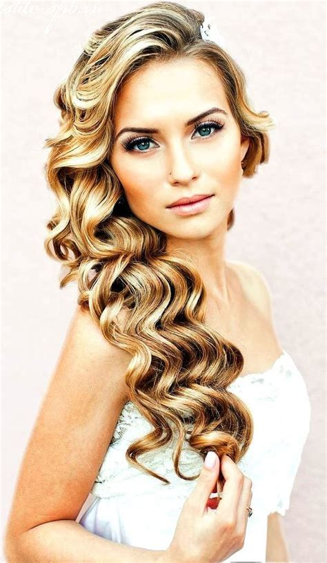 Lovely Romantic Hairstyle For Your Wedding Day Glam Radar