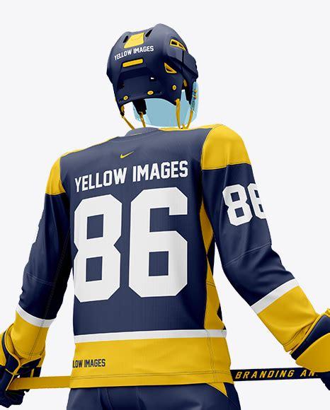 Jersey mockups in just a few clicks. Ice Hockey Jersey Mockup Free