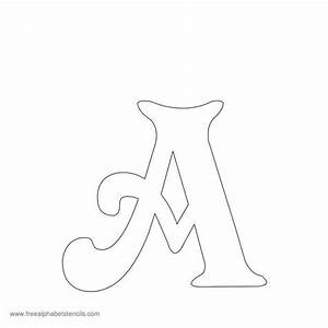 best 25 alphabet stencils ideas on pinterest free With free printable letter stencils