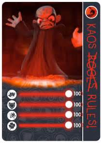 Skylanders Kaos Card