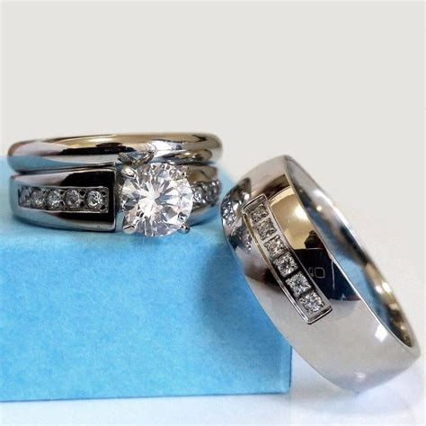 inspirations  cheap wedding bands sets