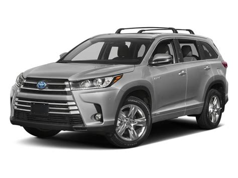 New 2018 Toyota Highlander Prices Nadaguides