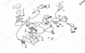 Arctic Cat Atv 2012 Oem Parts Diagram For Wiring Harness Assembly