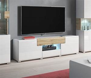 Lowboard Eiche Weiß : tv element lowboard anrichte wei eiche sanremo 159cm neu lowboards wohnzimmer feldmann ~ Frokenaadalensverden.com Haus und Dekorationen