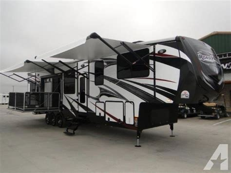 hauler side patio 2015 road warrior 420 for sale in