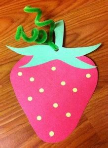 fruit craft idea  kids crafts  worksheets