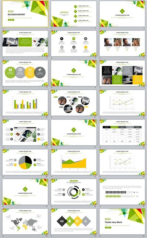 simple business report powerpoint templates book