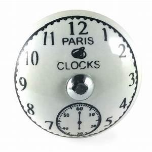 Bouton De Meuble Vintage : bouton de meuble horloge paris clocks vintage ~ Melissatoandfro.com Idées de Décoration