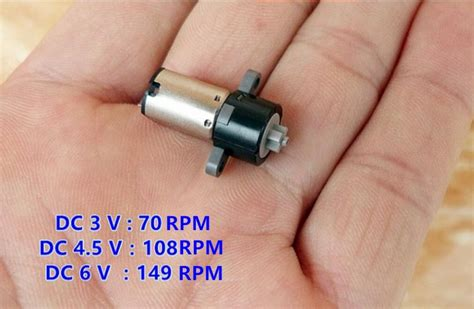 Micro Electric Motor by 10pcs Micro Gear Motor Dc3v 6v Equipment Planetary