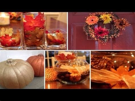 wonderfall series diy fall decorations youtube