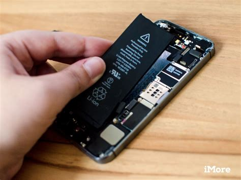 iphone battery how to replace the battery in an iphone 5s imore