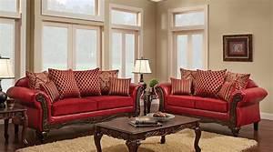 Multi, Fabric, Combination, Traditional, Style, Sofa, Loveseat, U2013, All, Nations, Furniture