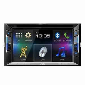 Jvc Kw-v21bt  Fm  Cd  Dvd Receiver W   Bluetooth At Ocsdeals Com