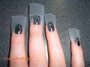 PassionForPolish: How To: Scotch Tape Nails