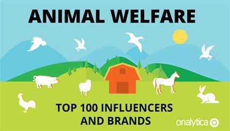 animal welfare top  influencers  brands