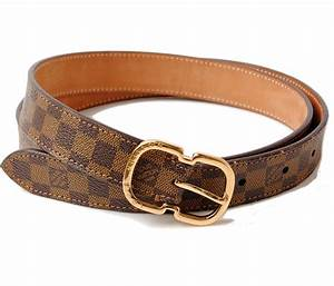 Import shop P.I.T.: Louis Vuitton belt women's LOUIS ...