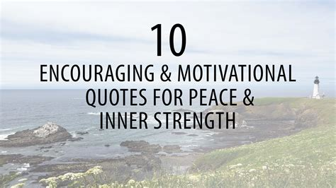 10 Motivational Quotes for Peace & Inner Strength | B105.7
