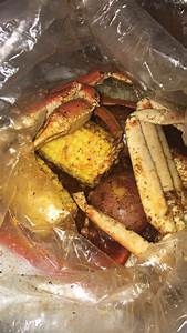 Crab legs with potatoes & corn. 3 the Chi Way seasoning ...