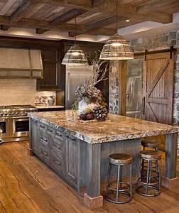 65, Best, Rustic, Kitchen, Cabinet, Ideas, 2021, Designs
