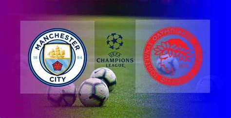 Hasil Manchester City vs Olympiakos Skor Akhir 3-0