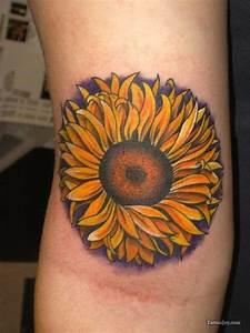 125 Sunflower Tattoo to Brighten Your Day
