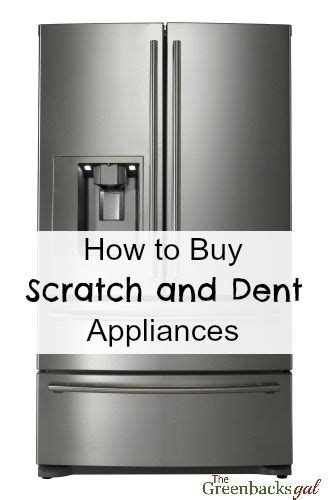 Scratch and dent, Appliances and Brand new on Pinterest