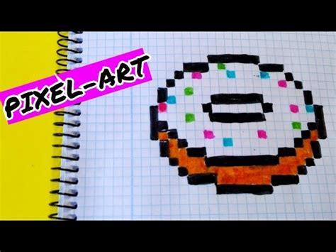 Draw Handmade Pixel Art- Como Dibujar Un Donut Kawaii