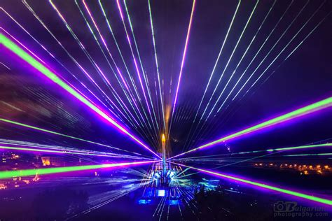 Light Show by 3d Mapping Laser Show
