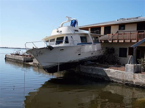 Boats Damaged By Hurricane Florence by Hurricane Damage Is About To Trigger A Fuel Glut