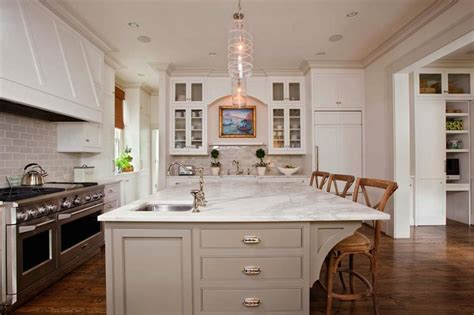 prep sinks for kitchen islands square prep sink transitional kitchen gwyn duggan design 7575