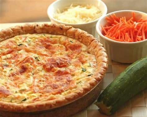 tarte aux courgettes  carottes au thermomix recette