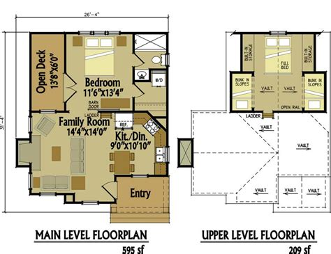 small cottage floor plan  loft small cottage designs