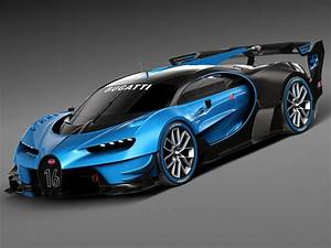 Bugatti Chiron Race Car 2017 3d model  CGStudio