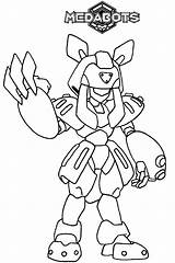 Coloring Pages Medabots Coloringpages1001 Social sketch template