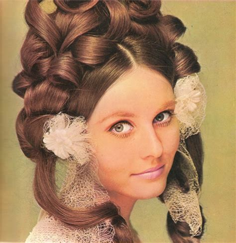 easy hair styles 68 best images about knitty on updo 1960s and 1969
