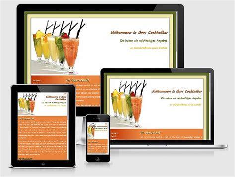 kostenlose homepage vorlagen buttons responsive html