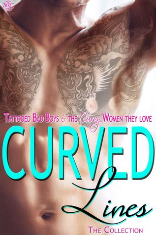 curved lines tattooed bad boys   curvy women