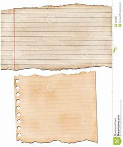 Torn lined paper stock image. Image of ruled, paper, blank ...