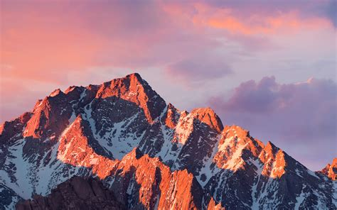 ar  sierra apple wallpaper art mountain sunset wallpaper
