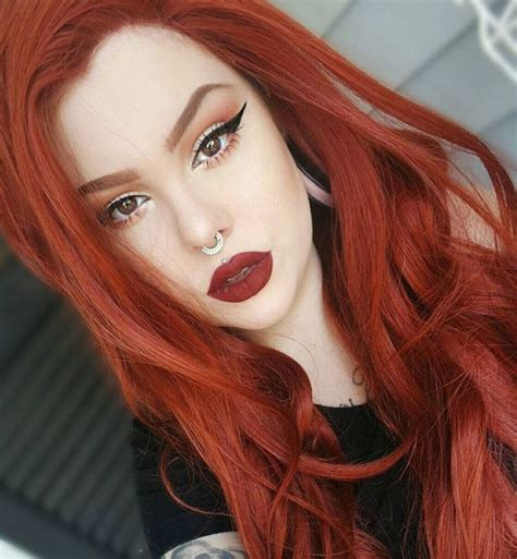 The 25 Best Red Orange Hair Ideas On Pinterest Fiery