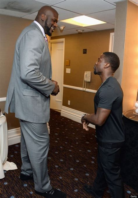 photo  shaquille oneal  kevin hart