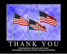 Creative Chaos In Arizona Happy Memorial Day Thank You Banner