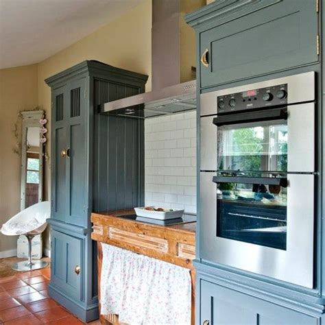 Gray And White Kitchen Ideas - country cottage kitchen with painted units kitchen decorating housetohome co uk kitchen