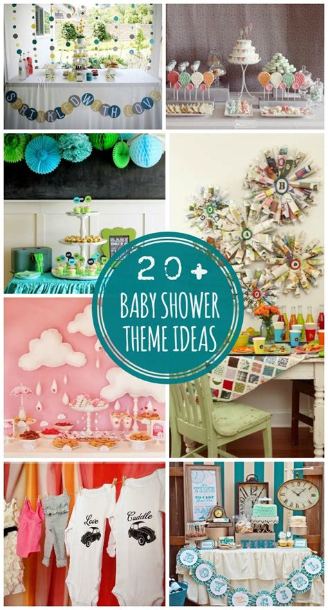 Baby Shower Ideas - baby shower themes