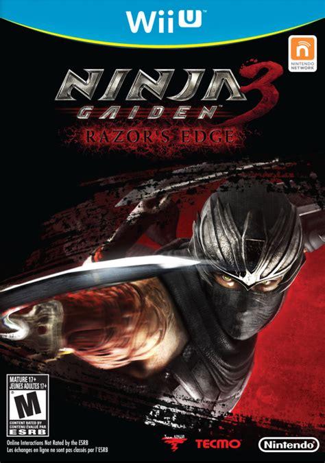 Ninja Gaiden 3 Razors Edge Cover Click To Enlarge