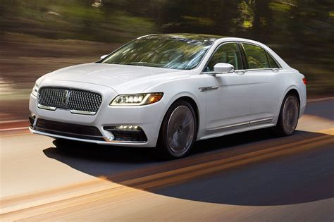 2017 Lincoln Continental Black Label Awd First Drive Review