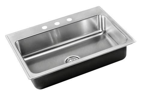 Just Sinks by Drop In Sink Stainless Steel Single Bowl Drop In Sinks