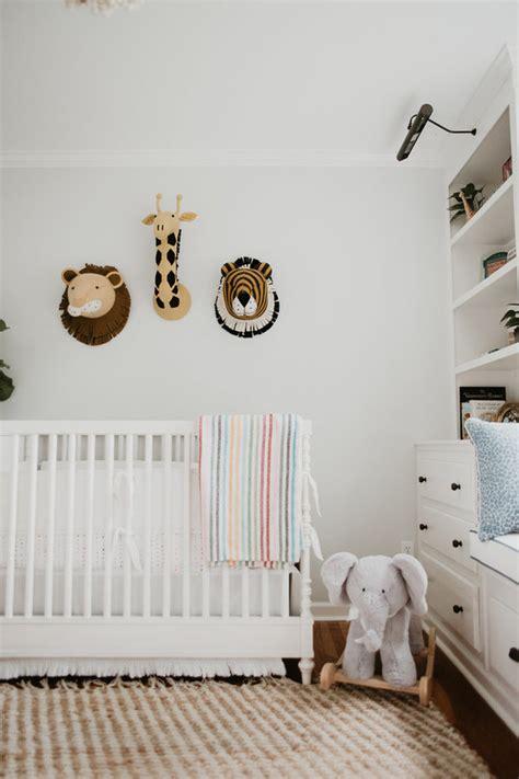 hamptons inspired safari nursery neutral nursery ideas