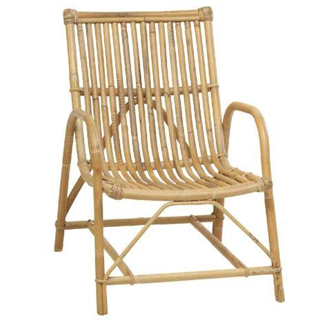 fauteuil rotin vintage olivier salon en rotin naturel