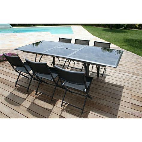 Table De Jardin Avec Rallonge Carrefour by Salon De Jardin Plastique Carrefour Qaland Com